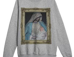 Grey sweatshirt - Immaculate Conception Carnet de Mode online fashion store Europe France