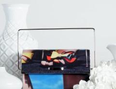 Handheld Clutch - Multi - 70's Carnet de Mode online fashion store Europe France
