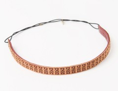 Headband - Apollonide - Burgundy Empire Carnet de Mode online fashion store Europe France