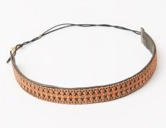 Headband - Apollonide - Golden & green Carnet de Mode online fashion store Europe France