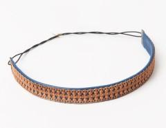 Headband - Apollonide - copper & blue Carnet de Mode online fashion store Europe France
