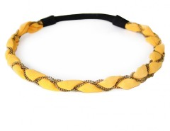 Headband - Eve - Gold yellow Carnet de Mode online fashion store Europe France