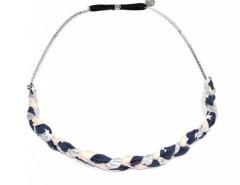 Headband - IRIS - pink & silvery Carnet de Mode online fashion store Europe France