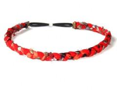 Headband - LINNA - red Carnet de Mode online fashion store Europe France
