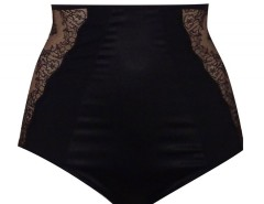 High waist panties - TAILLE DE GUÊPE - Black Carnet de Mode online fashion store Europe France
