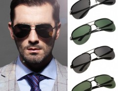 Hot Fashion Men Polarized Metal Frame Round Casual Outdoor Sunglasses Cndirect online fashion store China