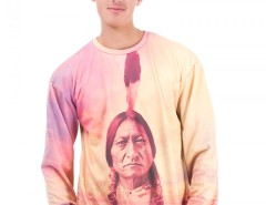 Indian Printed Polyester Sweatshirt - Dream Catcher Carnet de Mode online fashion store Europe France