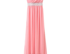 Jollychic Ankle Length Sleeveless Beading Elegant Formal Dresses Jollychic.com online fashion store China