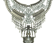 Jollychic Crystal Pendant Exaggerated Drama Necklace Jollychic.com online fashion store China