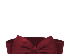 Jollychic Fashion Bow Solid Wide Elastic Belt For Women Jollychic.com online fashion store China