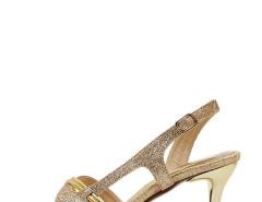 Jollychic Geometric Cut Vamp Thin Heel Sandals Jollychic.com online fashion store China