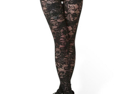 Jollychic Out Wear Sheer Lace Fashion Leggings Black Jollychic.com online fashion store China
