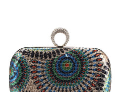 Jollychic Shining Rhinestones Sequins Hasp Stylish Party Clutches Jollychic.com online fashion store China