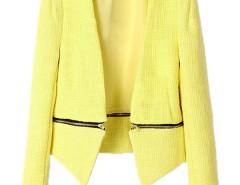 Jollychic Stylish Detachable Lap Long Sleeve Ladies Cropped Blazer Jollychic.com online fashion store China
