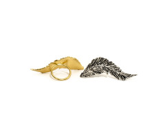 Conjure Feather Ring MrKate.com online fashion store USA