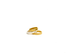 Alchemist Band Ring. Yellow Gold or Silver. MrKate.com online fashion store USA