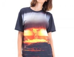 Kaboom Printed Polyester T Shirt Carnet de Mode online fashion store Europe France