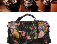 Korea Fashion Women's Girl Painting Pattern Single Shoulder Bag Handbag Cndirect online fashion store China