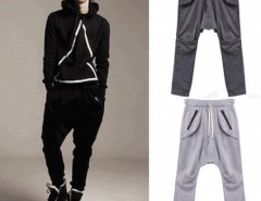 Korean Men Baggy Pants Slacks Sports Casual Loose Long Trousers Cndirect online fashion store China