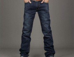 Korean Men's Slim Fit Jeans Trousers Straight Leg Cndirect online fashion store China