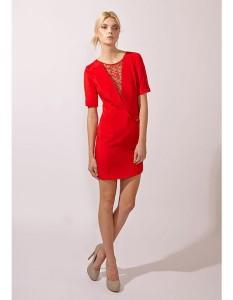 Lace Insert Dress Carnet de Mode online fashion store Europe France