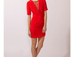 Lace Insert Dress Carnet de Mode online fashion store Europe France
