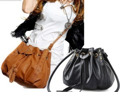 Lady Hobo PU leather Handbag Fashion Shoulder Bag Purse Cndirect online fashion store China