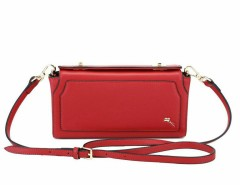 Leather Clutch with Strap - Cayla Carnet de Mode online fashion store Europe France