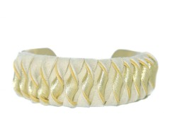 Leather Cuff - LIZZY Carnet de Mode online fashion store Europe France