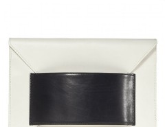 Leather Franco Oversized Envelope Clutch Carnet de Mode online fashion store Europe France