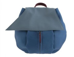 Leather backpack Carnet de Mode online fashion store Europe France