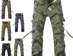 Men Casual Military Army Cargo Camo Combat Work Pants Trousers 30-36 Cndirect online fashion store China