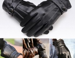 Men Warm Lined Leather Gloves Skiing Cycling Driving Riding Cndirect online fashion store China