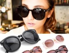 Men Women Retro Fashion Arrow Style Eyewear Round Frame Sunglasses Unisex Cndirect online fashion store China