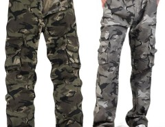 Men's Multi Pocket Mountaineers Hiking Camouflage Pants Casual Overalls Trousers Cndirect online fashion store China
