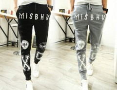 Men's New Fashion Printed Casual Harem Sweat Pants Jogger Dance Slacks Trousers Cndirect online fashion store China