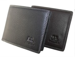 Men's Synthetic Leather Wallet Money Pockets Extra Capacity Bifold ID Window Cndirect online fashion store China