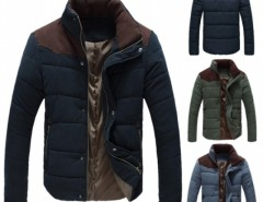 Men's Winter Warm Thermal Wadded Jacket Cotton-padded Coat Cndirect online fashion store China