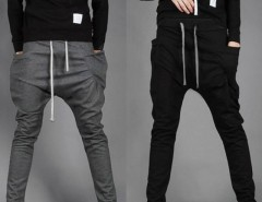 Mens Harem Hip Hop Casual Dance Jogger Sport Long Baggy Slacks Pants Trousers Cndirect online fashion store China