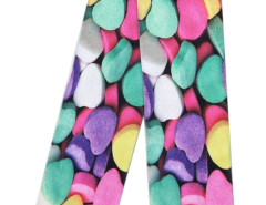 Multicolor 3D Heart-shaped Candy Print Ankle Socks Choies.com online fashion store United Kingdom Europe