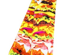 Multicolor 3D Yummy Hamburger Print Ankle Socks Choies.com online fashion store United Kingdom Europe