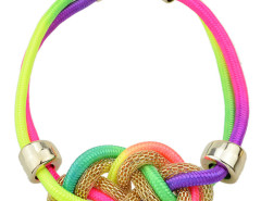 Multicolor Folk Style Twisted Rope Necklace Choies.com online fashion store United Kingdom Europe