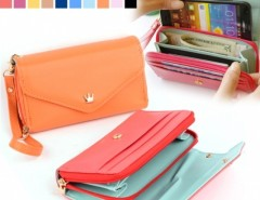 Multifunction Women Wallet Coin Case Purse For iphone/Galaxy iphone 4/5 Cndirect online fashion store China