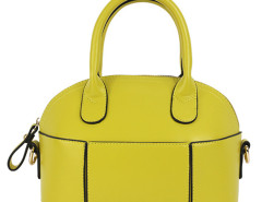 Mustard Shell Shape Shoulder Bag Choies.com online fashion store United Kingdom Europe