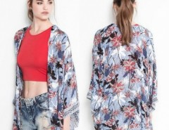 NEW Vintage Retro Women summer Hippie Loose Style Kimono Coat Cape Blazer Jacket Cndirect online fashion store China