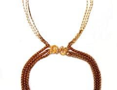Necklace - Novembre - Golden Carnet de Mode online fashion store Europe France
