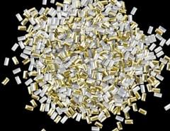 New 1000Pcs Fashion 3D Rectangle Metal Nail Art Decoration Metal Studs Beads Rhinestone 2 Colors Cndirect online fashion store China