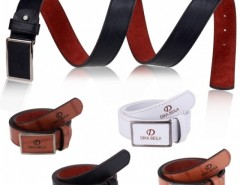 New Arrival Fashion Men Casual Waistband Synthetic Leather Automatic Buckle Belt Waist Strap Belts Cndirect online fashion store China