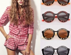 New Classic Men Women Unisex Fashion Vintage Style Round Frame Sunglasses Cndirect online fashion store China