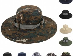 New Fashion Men Outdoors Cap Sunscreen Fishing Round Camouflage Pattern Hat Cndirect online fashion store China